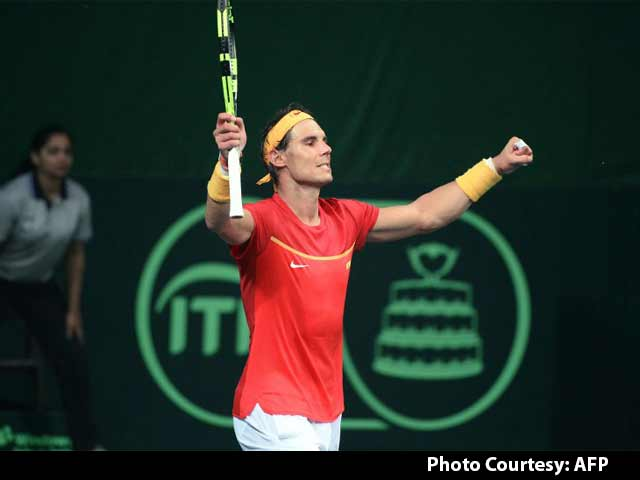 Video : Rafael Nadal Takes Spain Back Into Davis Cup World Group