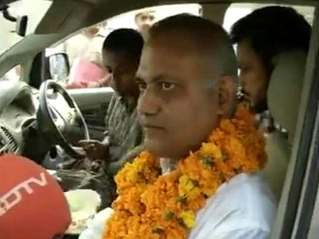Video : AAP's Somnath Bharti Arrested For Allegedly Assaulting AIIMS Guards, Gets Bail