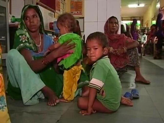 Video : Malnourishment Rampant In Madhya Pradesh Village, Kids Battle For Life