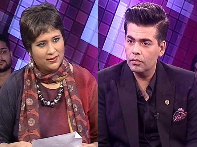 Video : Exclusive: 'Will Banning Pakistani Talent Stop Terrorism?' Asks Karan Johar