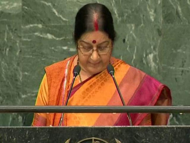 Video : We Wished Nawaz Sharif, Got Uri In Return: Sushma Swaraj