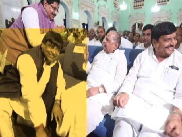 Video : Minister Sacked By Akhilesh Yadav Back, Mulayam Singh Says, 'Bless All'