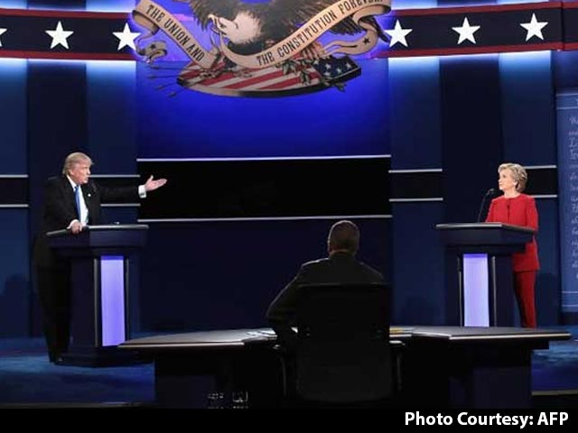 Video : Trump, Hillary Face Off In First US Presidential Debate