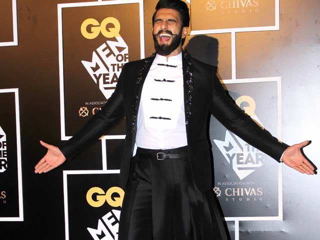 Bajirao In A Skirt? Ranveer Singh Is A GQ Man of the Year