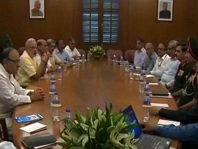 Video : सर्जिकल स्ट्राइक के बाद सुरक्षा मामलों की समिति की बैठक