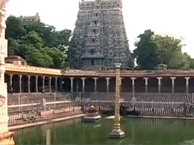 Video : Meenakshi Temple Set To Go Swachh