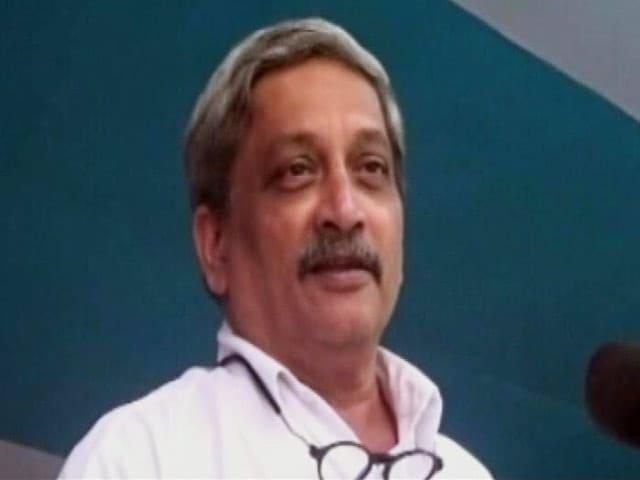 Video : 'सर्जरी' के बाद पाकिस्तान अब भी बेहोशी की हालत में : मनोहर पर्रिकर