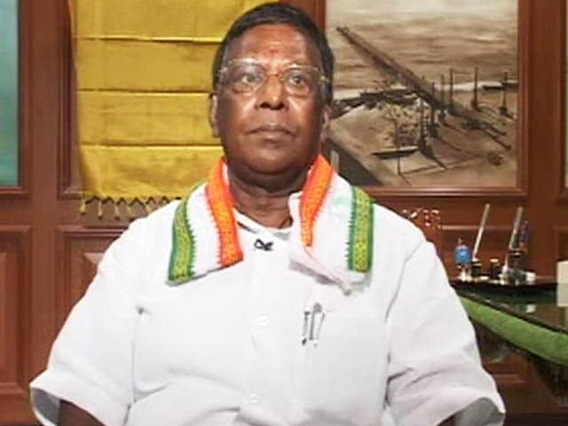 Video : Puducherry CM Narayanaswamy Lends Support To Banega Swachh India Campaign