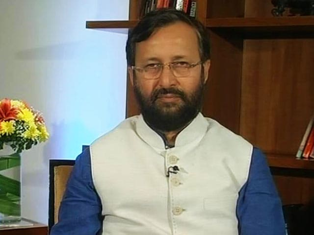Video : Confident That Swachh Bharat Will Materialise: Prakash Javadekar
