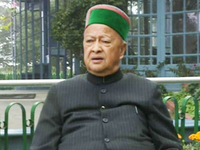 Video : Virbhadra Singh Questioned For Over 9 Hours In Money Laundering Case