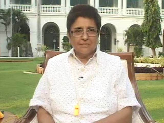 Video : Everyone Needs To Be Involved In The Clean-Up Process: Kiran Bedi