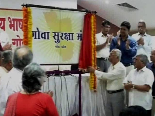 Video : RSS Rebel Subhash Velingkar Announces New Party Ahead Of Goa Assembly Polls