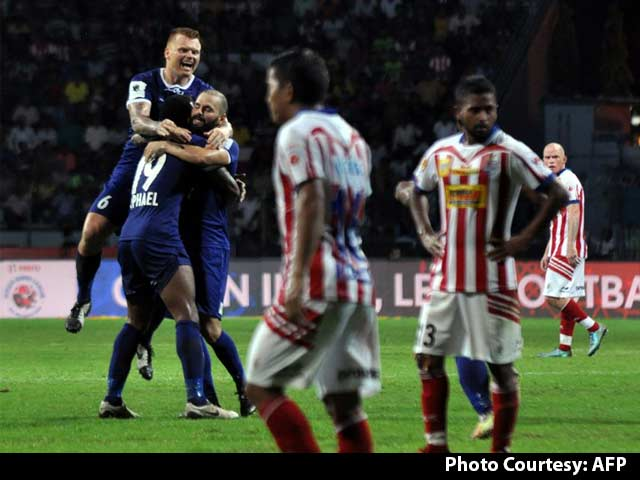 Video : ISL: Holders Chennaiyin FC Draw 2-2 Against Atletico de Kolkata