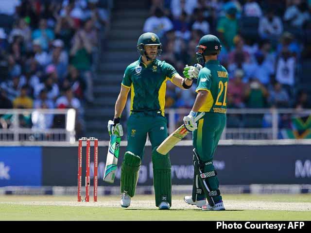 Video : Faf du Plessis Lauds 'Complete' Team Performance vs Australia