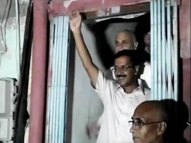 Video : दिल्ली के सीएम अरविंद केजरीवाल पर स्याही फेंकी गई