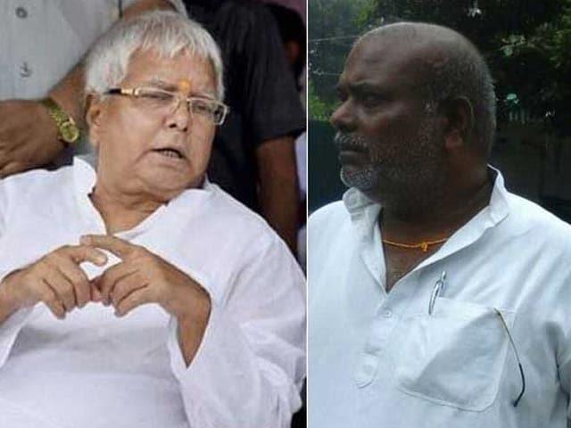 Video : Lalu Yadav Meets Bihar Lawmaker Accused Of Raping 15-Year-Old