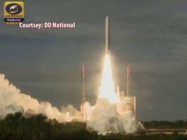 Video : ISRO's 'Glorious' Launch Of Heavy GSAT-18 Satellite Using European Rocket
