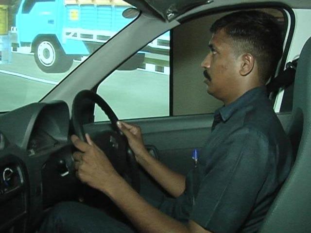 Video : कार ड्राइविंग सिम्युलेटर के जरिए बंद कमरे में होगा ड्राइविंग टेस्ट