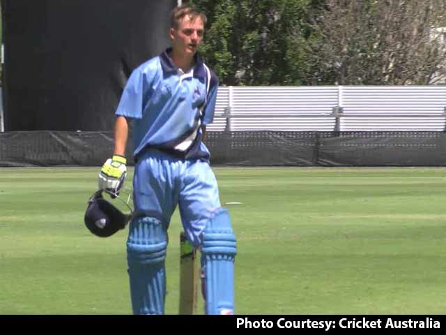 Video : Austin Waugh Blasts Unbeaten Ton in NSW Title Victory