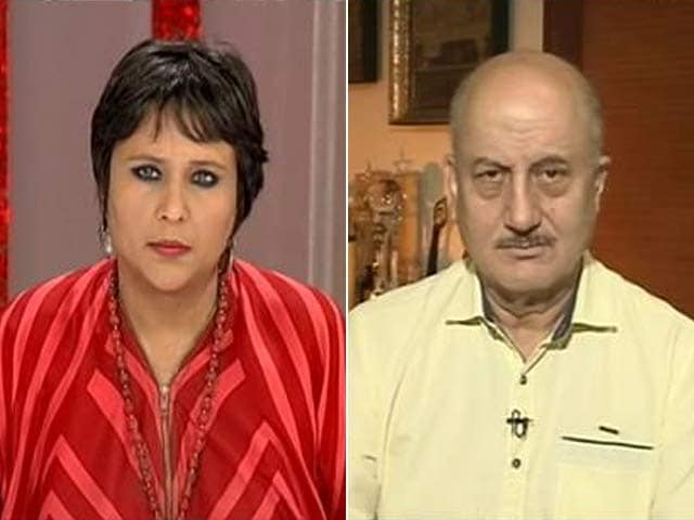 Video : India Your <i>Karma-Bhumi</i>, Why Step-Brotherly Treatment: Anupam Kher To Pak Actors