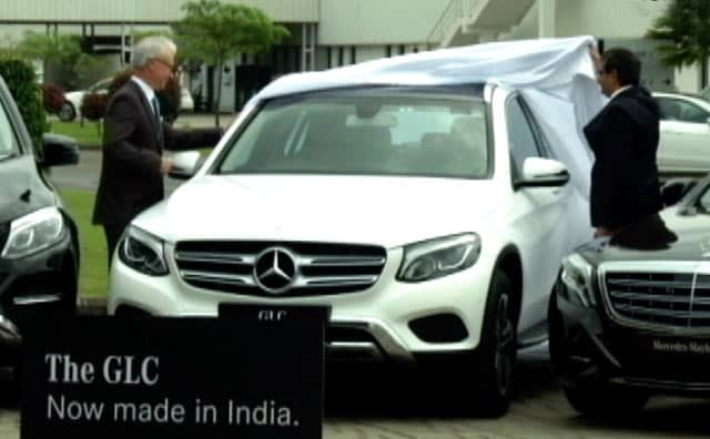 Video : India-Made GLC Launched, Gerry McGovern Interview And Bajaj Allianz's Drivesmart Device