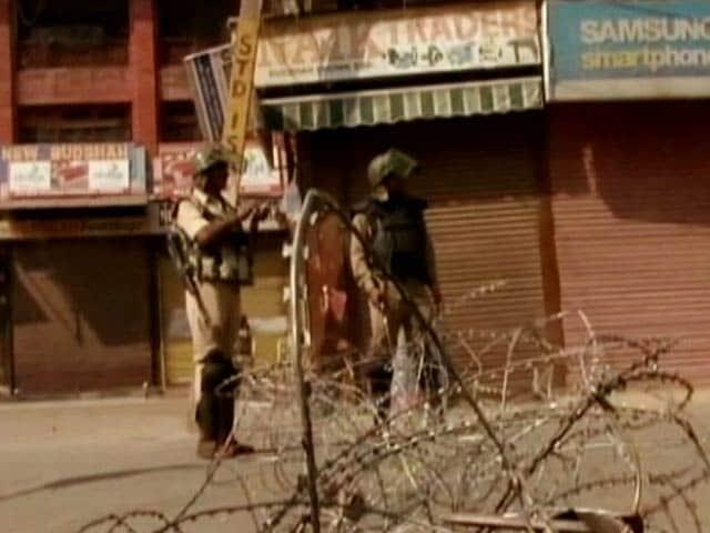 Video : Curfew In Srinagar As 12-Year-Old Dies In Pellet Firing, PDP Wants Probe