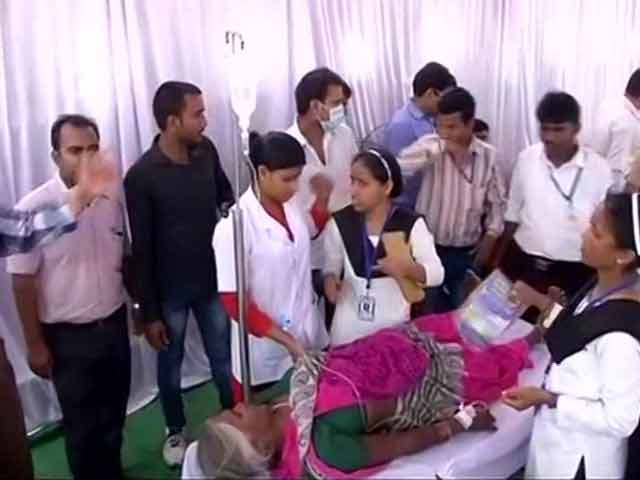 Video : 3 Dead, Many Injured After Stampede At Mayawati's Rally In Lucknow