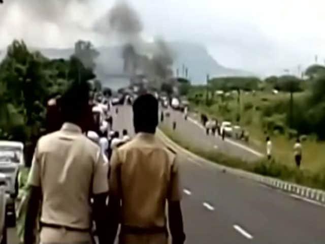 Video : Section Of Marathas Turn Violent After 5-Year-Old's Alleged Rape In Nashik