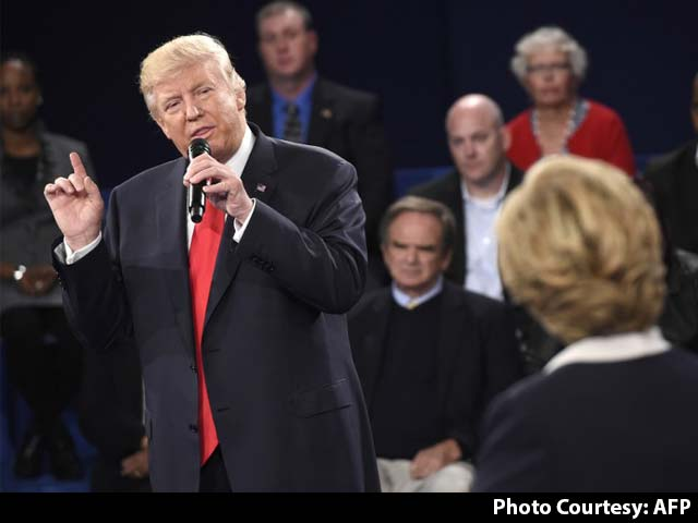 Video : Donald Trump Accuses Bill Clinton Of Being 'Abusive To Women'