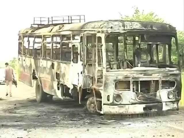 Video : Mobile Internet Services Suspended In Protest-Hit Nashik