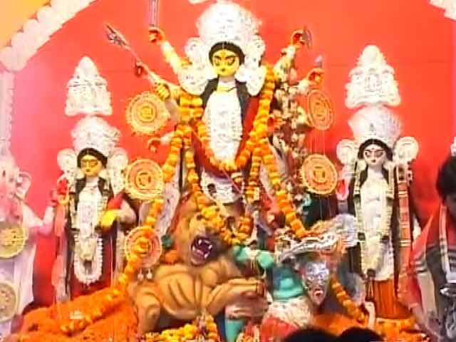 Video : दक्षिण पर चढ़ने लगा उत्तर का रंग, दशहरे में दिख रहे भगवान राम और रावण
