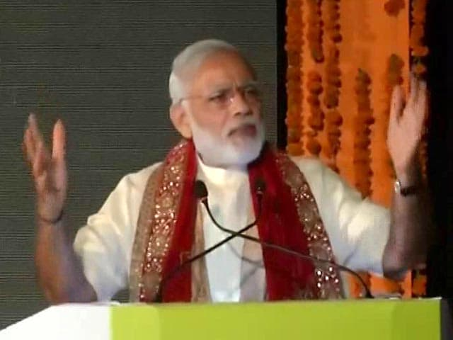 Video : PM's Strong Message On Terror At Lucknow Ramlila