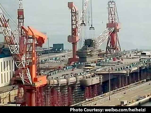 Video : These New Images Of Chinese Aircraft Carrier Should Concern India