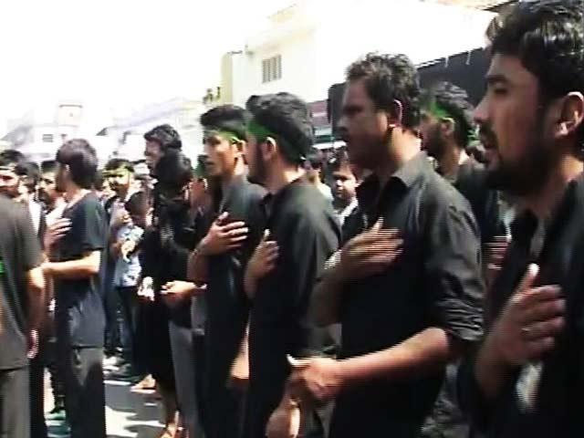 Videos : मुल्क में मनाया गया मोहर्रम का गम