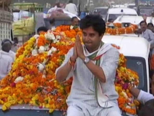 Video : Polls 'More About Individual, Less About Symbol', Says Jyotiraditya Scindia