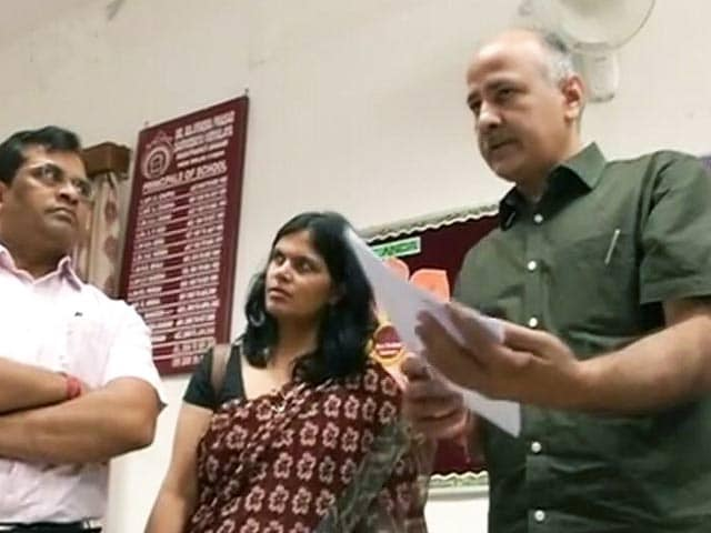Videos : दिल्ली : एसीबी ने कथित भर्ती घोटाले में की मनीष सिसोदिया से पूछताछ