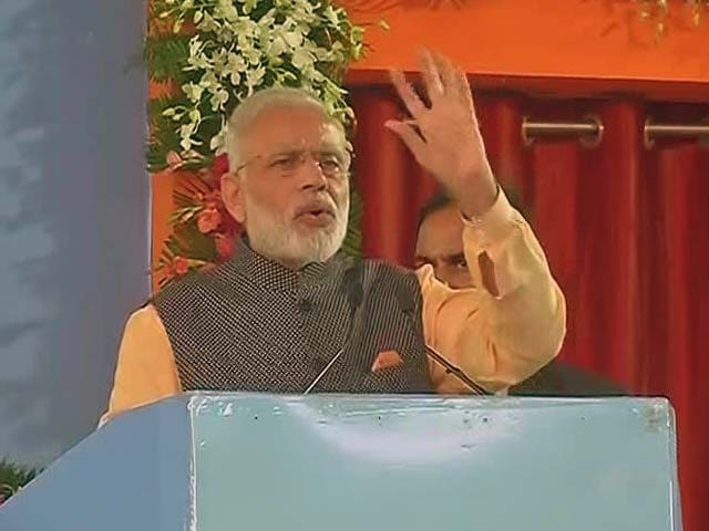 Video : Army Doesn't Speak, It Acts, Says PM Modi In Bhopal