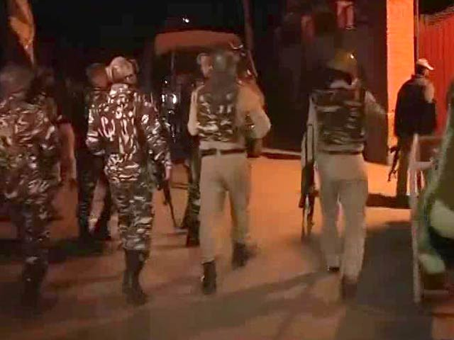 Video : Soldier Killed, 8 Injured In Terror Attack On Outskirts Of Srinagar