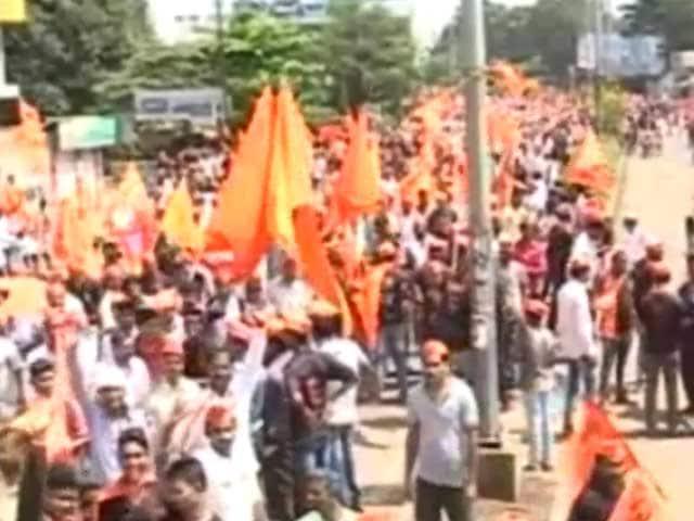 Videos : कोल्हापुर : आरक्षण की मांग को लेकर रैली, 35 लाख लोगों के शामिल