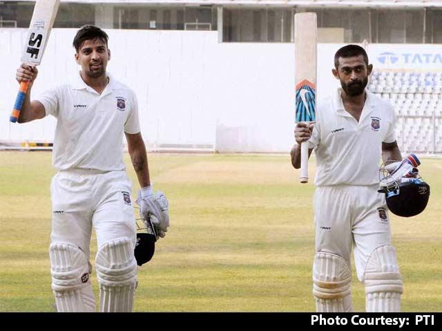 Swapnil Gugale, Ankit Bawne Revel in Ranji Trophy Record Partnership