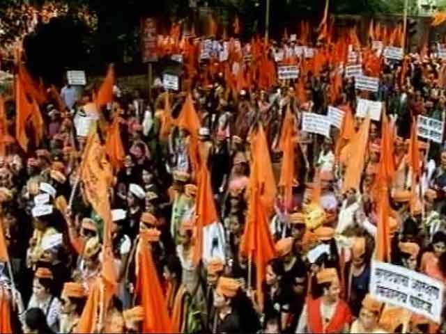 Video : ठाणे पहुंचा मराठा मार्च, 9 अगस्त से की थी शुरुआत