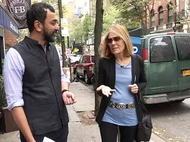 Video : 'Donald Trump Hires Women As A Camouflage For His Misogyny': Gloria Steinem
