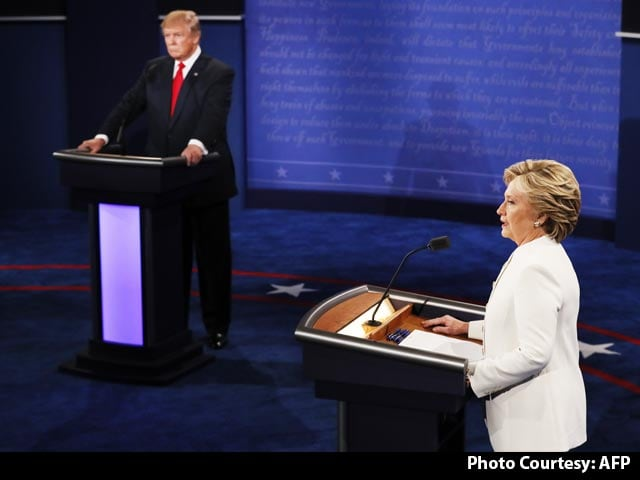 Video : Hillary Clinton, Donald Trump Face Off In Final US Presidential Debate
