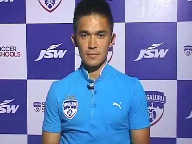 Proud to be Playing For a Club Like Bengaluru FC: Sunil Chhetri