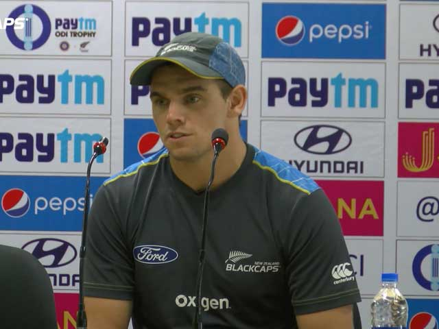 Video : India vs New Zealand: Tom Latham Aims to Convert Good Scores Into Match-Winning Knocks