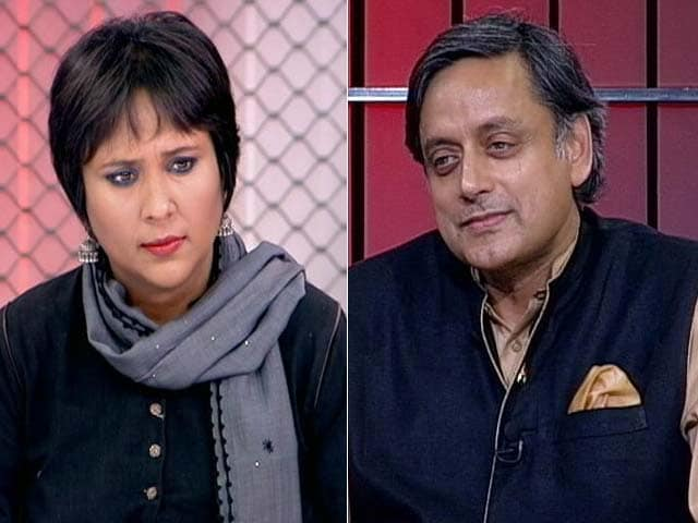 Video : British PM Must Sink To Knees And Say Sorry: Shashi Tharoor On Colonial Rule