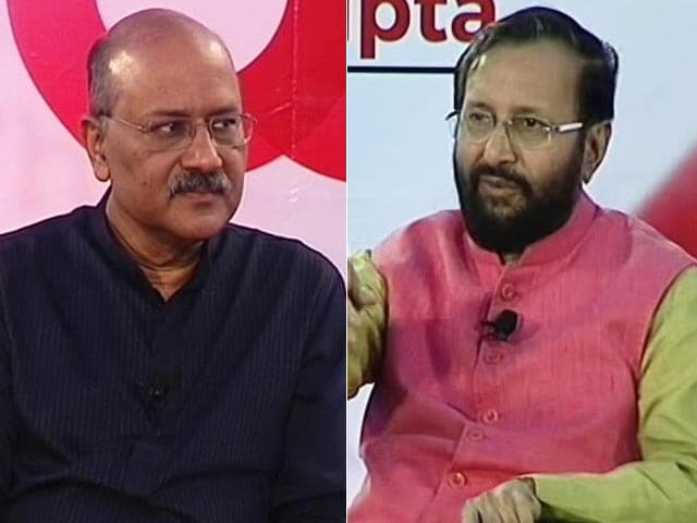 Video : <i>Off The Cuff</i> With Education Minister Prakash Javadekar