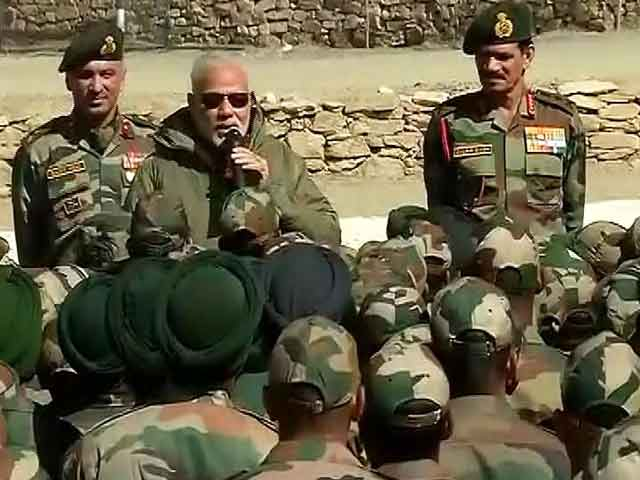 Video : Rs. 5,500 Crore Paid To Ex-Servicemen As First OROP Instalment: PM Modi