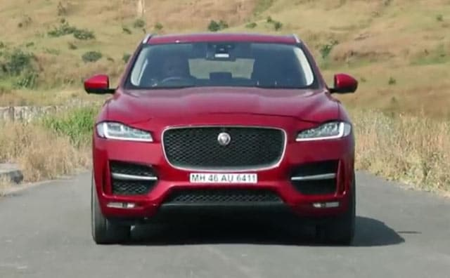 Jaguar F Pace Driven In India