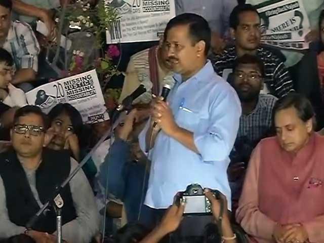 Video : नजीब के मसले को JNU से बाहर ले जाएंगे, इंडिया गेट पर बैठेंगे : केजरीवाल